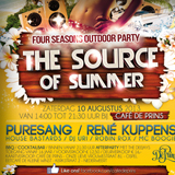 Reclame campagne The Source of Summer 2013