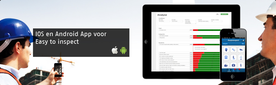 IOS en Android App Easy to inspect