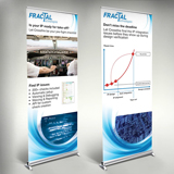 Roll-up banners Fractal Technologies