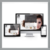 Responsive website HIP hairfashion